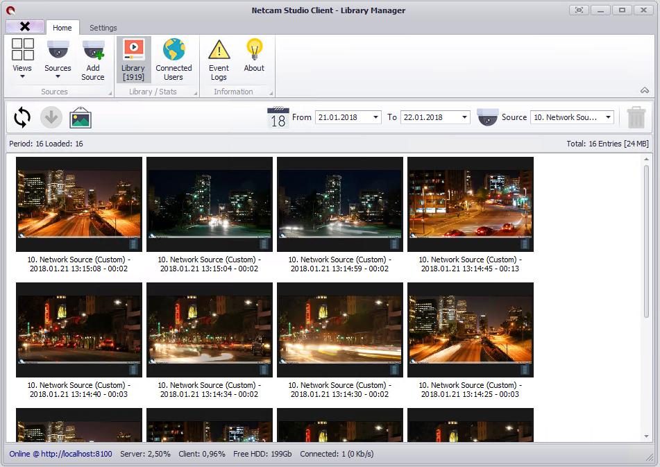 Netcam Studio x64 screenshot
