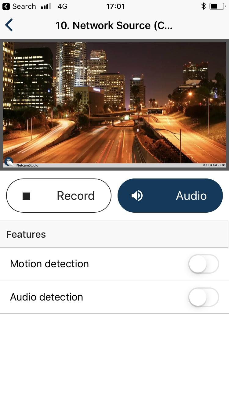 Netcam Studio screenshot